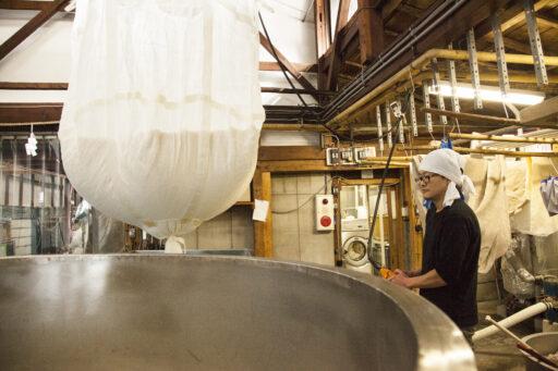 原料となる「米」の処理